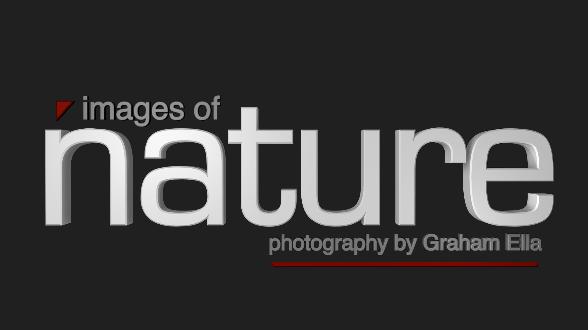 Stockport Photographer Graham Ella Images of Nature Logo